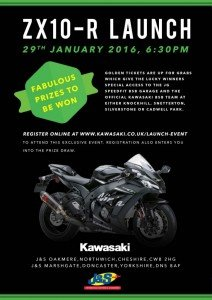 Kawasaki event at J&S Northwich and Doncaster