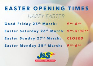 Easter 2016 OPening Times