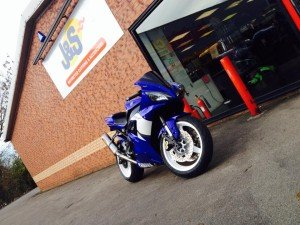 Gary from J&S Leicester - Yamaha R1 2002 5PW