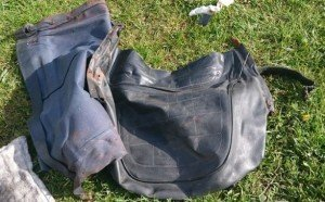 Yamaha RD250 old seat cover