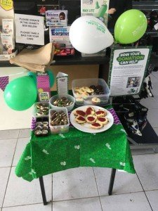 macmillan fundraising at our Oakmere store