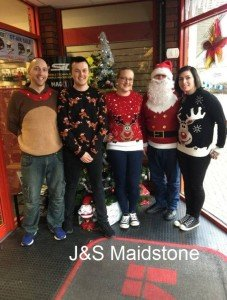 J&S Maidstone's 2016 Christmas Jumper Day