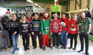 J&S Northwich's 2016 Christmas Jumper Day