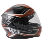 Shoei NXR Valkyrie TC-10 in Red and Black