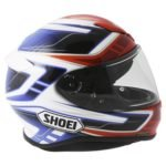 Shoei NXR Valkyrie TC-1 in Red and Blue
