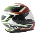 Shoei NXR Valkyrie TC-4 in Red and Green