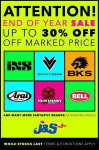 January 2017 End of Year up to 30% Off Sale