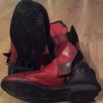 Old Frank Thomas boots