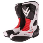 Frank Thomas Qualifier GP Boots in Black and Red