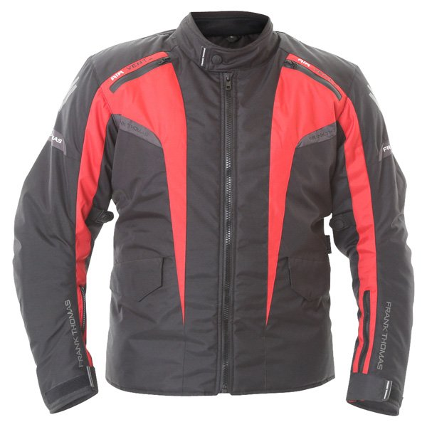 Frank Thomas Tornado Jacket in Black and Red