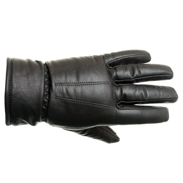 Spartan Classic Leather Gloves in Black