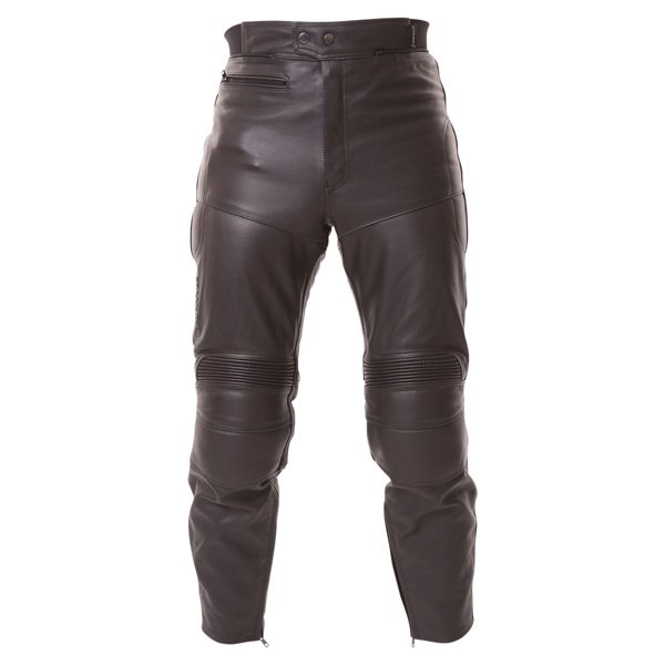 Frank Thomas FTL401 leather jeans front view
