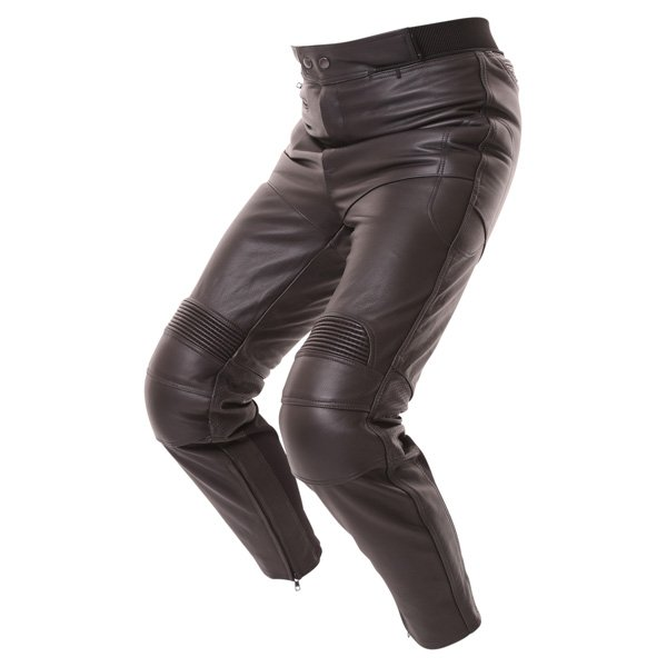 Frank Thomas FTL401 leather jeans side view