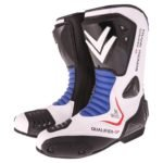 Frank Thomas Qualifier GP Boots in Black and Blue