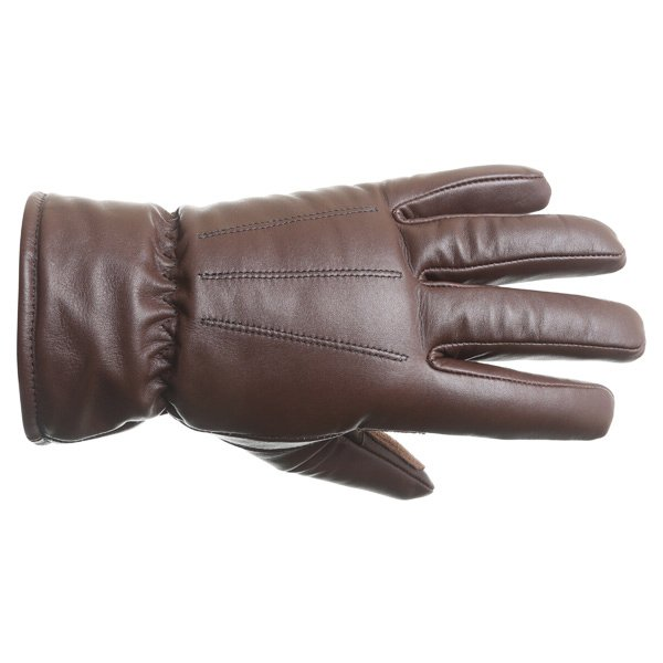 Spartan Classic brown leather waterproof gloves