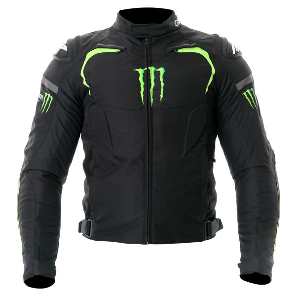 Alpinestars Monster Backfire textile motorcycle jacket front view