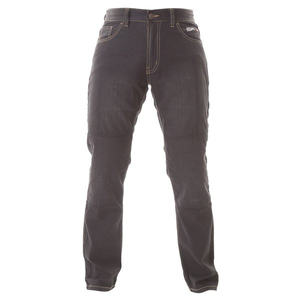 Oxford Products Aramid SP-J2 Black Jeans front view