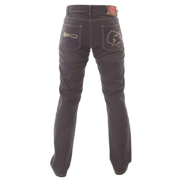 Oxford Products Aramid SP-J2 Black Jeans back view