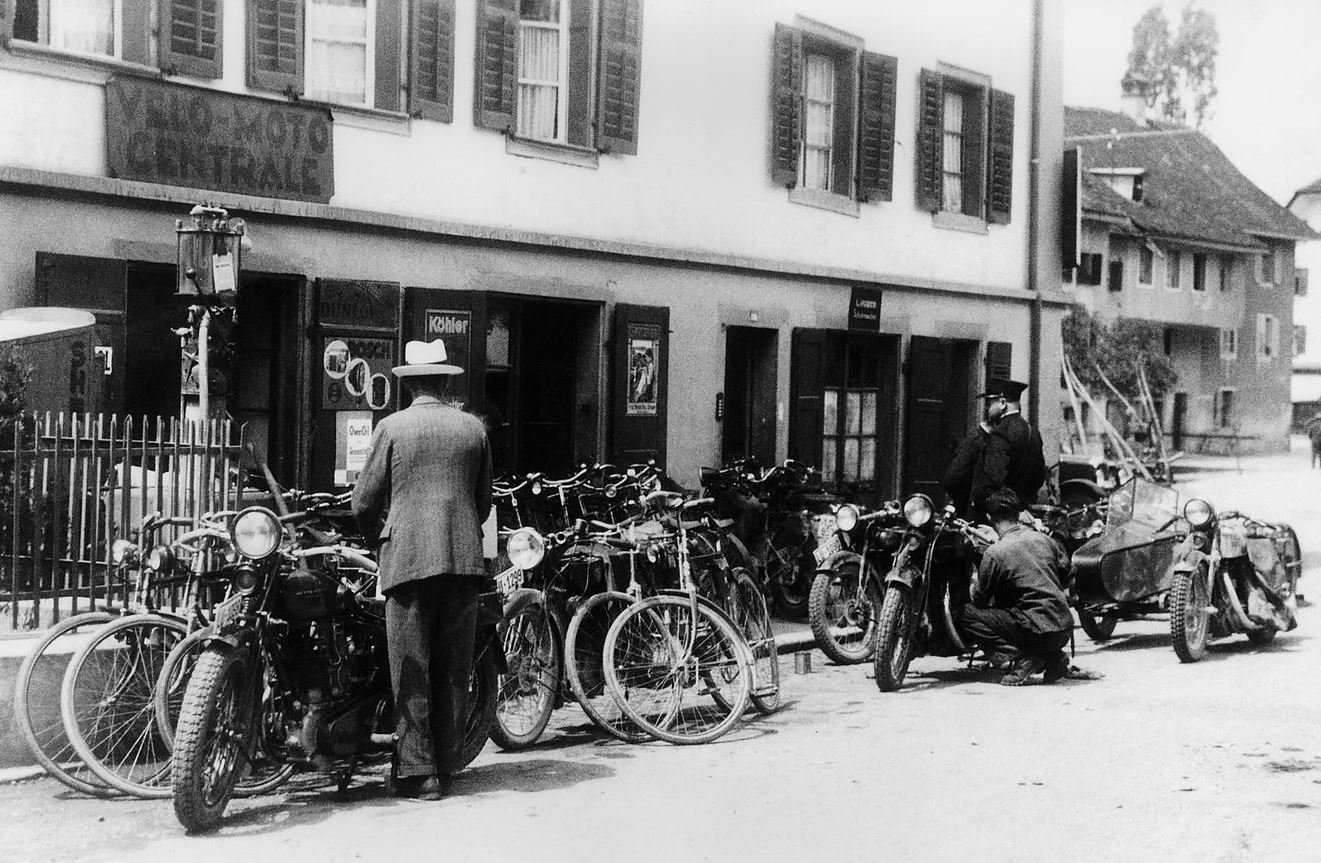 The workshop in the 1930's