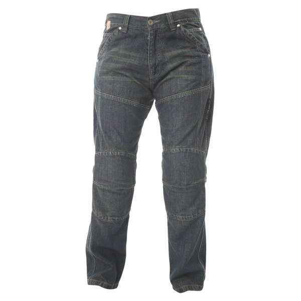 Ladies Red Route 009 Ride-Out Blue Jeans