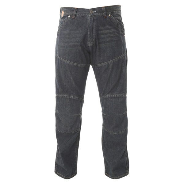 Mens Red Route 009 Ride-Out Blue Jeans