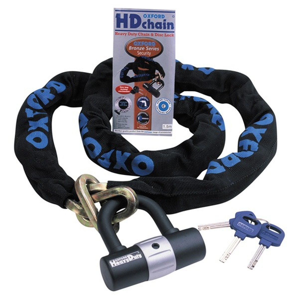 Oxford Products 1.5M Heavy Duty Chain Lock