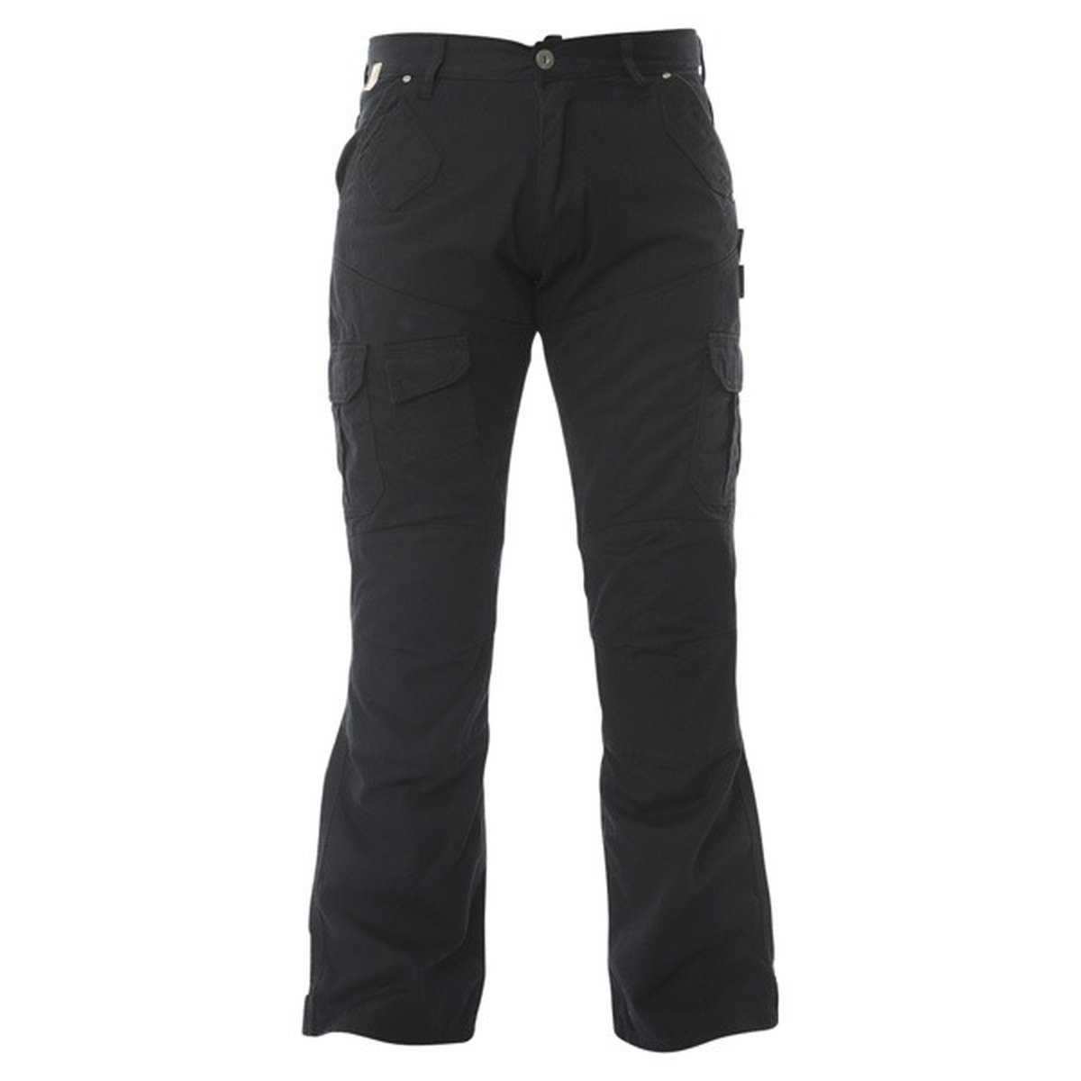 Mens Red Route 007 Cargo Black Jeans