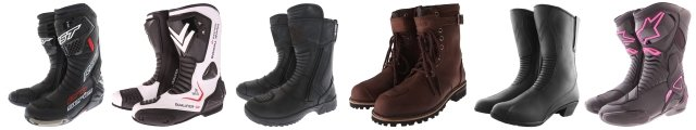 Motorcycle boots at J&S Accessories