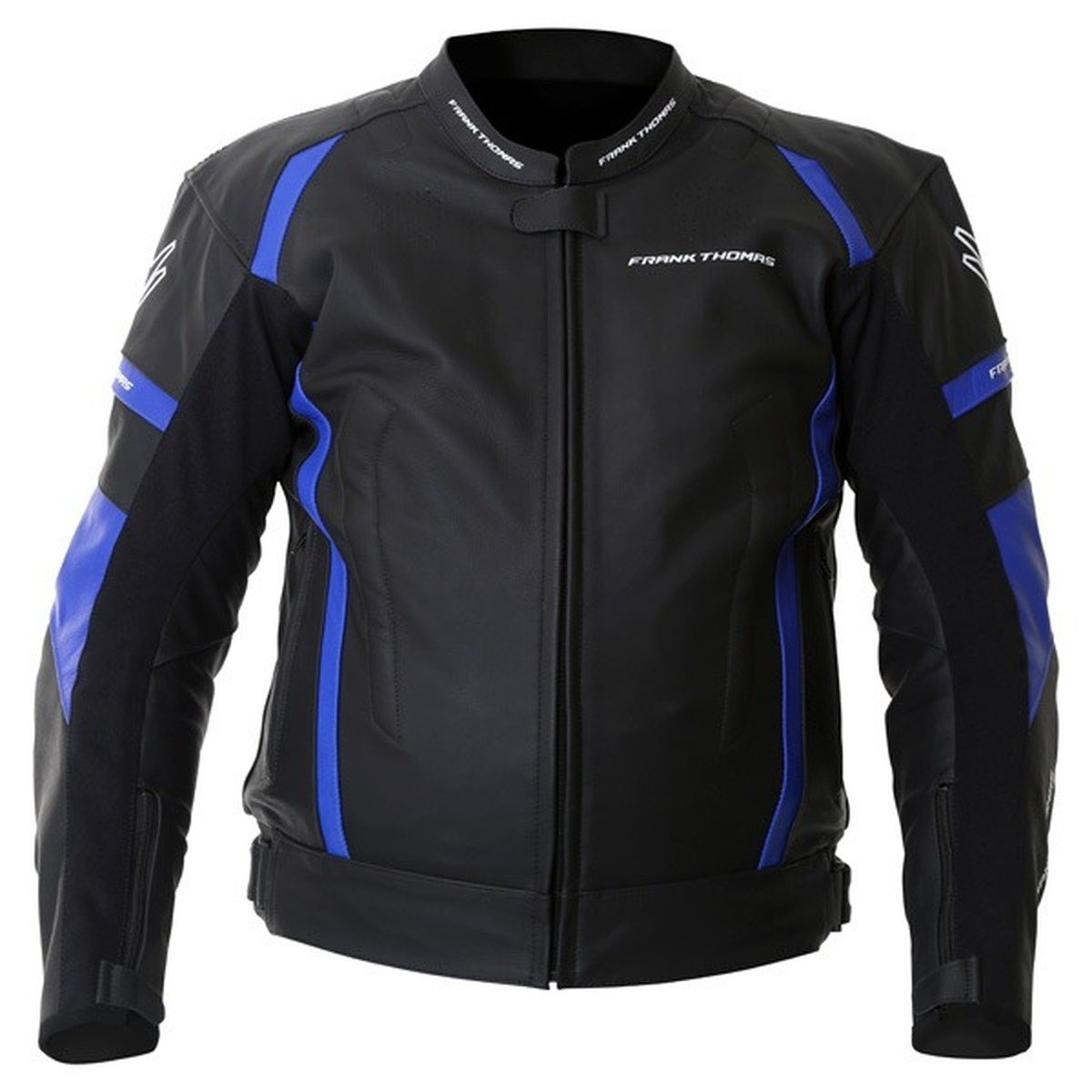 Frank Thomas Dynamic Jacket in Black and Blue