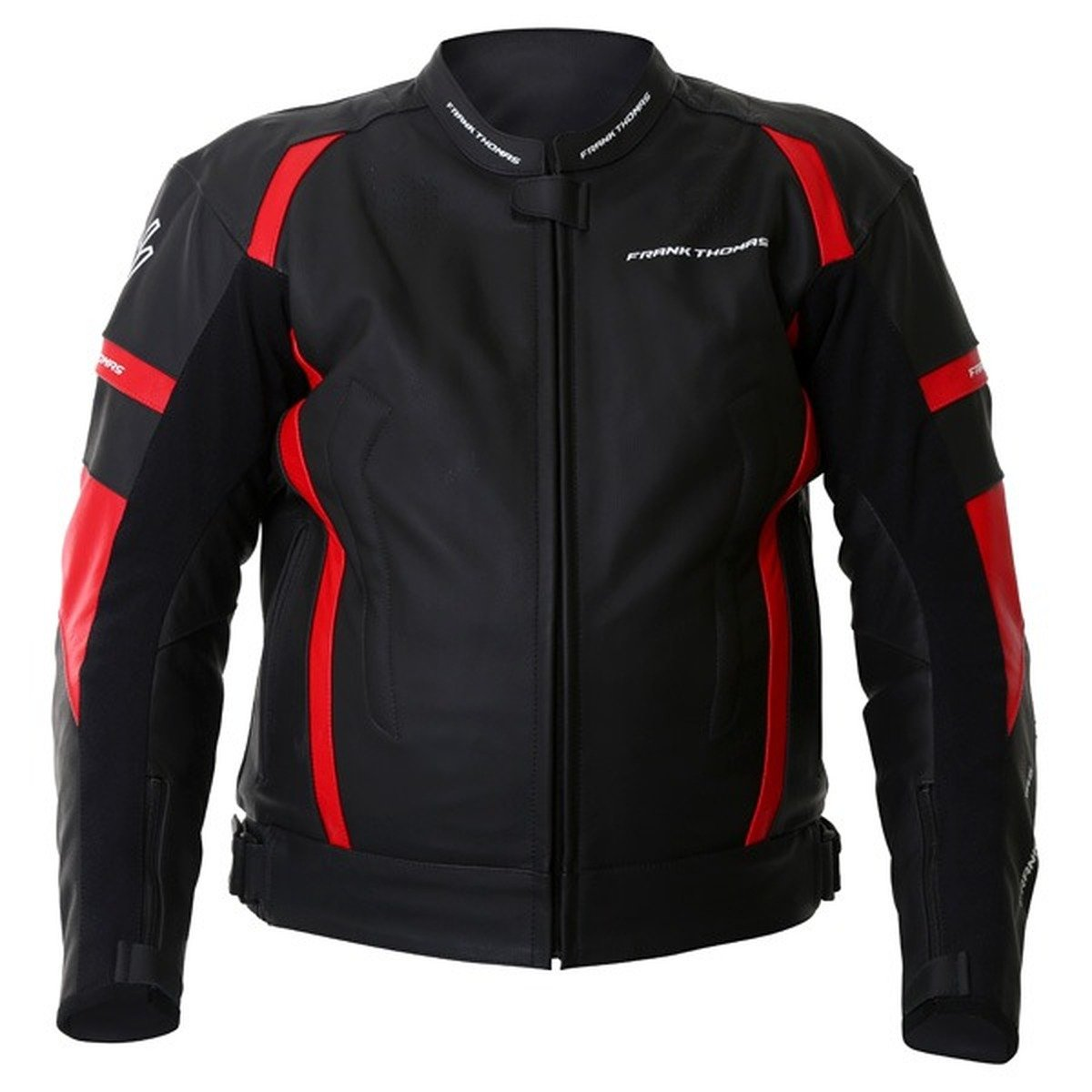 Frank Thomas Dynamic Jacket in Black and Red
