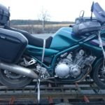 Right Side of Yamaha XJ900 Diversion