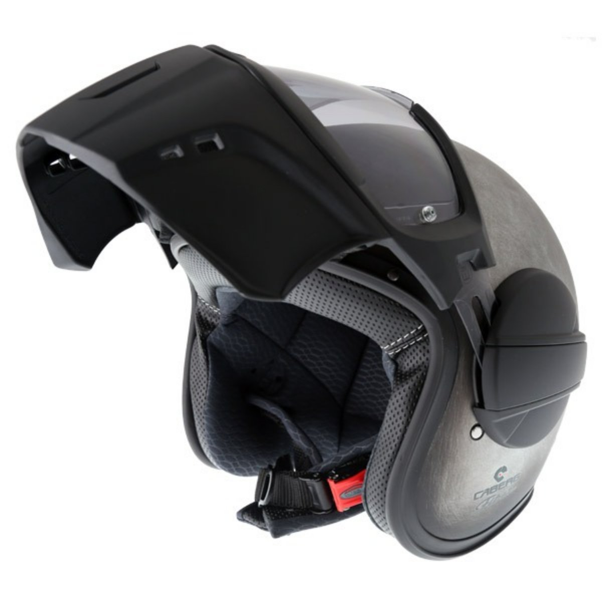 Caberg Ghost Iron motorcycle helmet open face