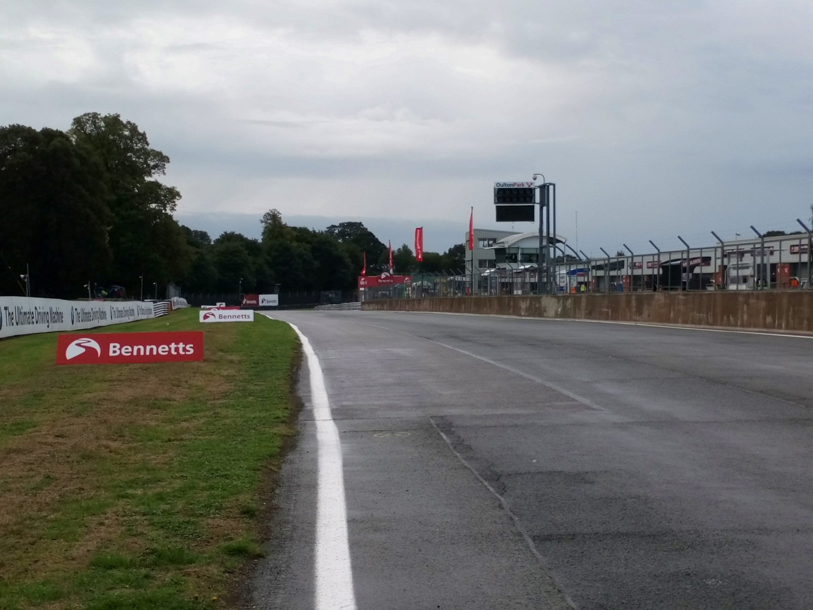 Damp Day For Racing