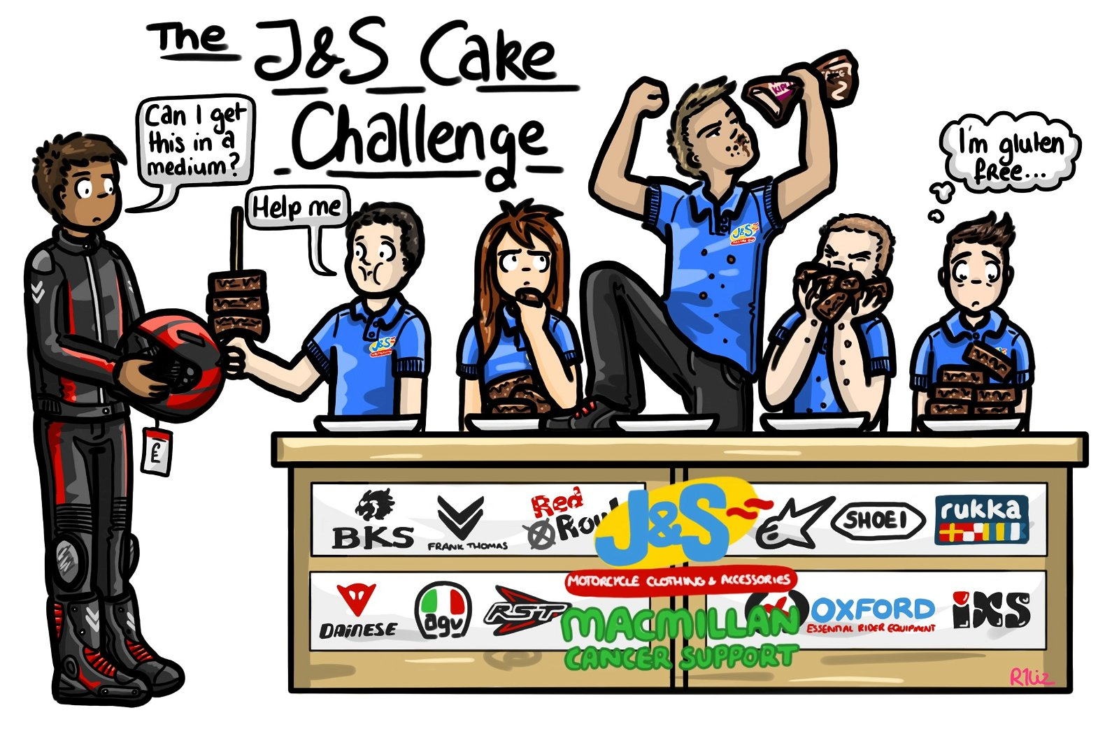 J&S Cake Challenge in aid of Macmillan Cancer Support