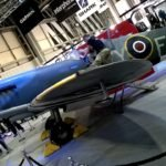 An actual Spitfire. At Motorcycle Live