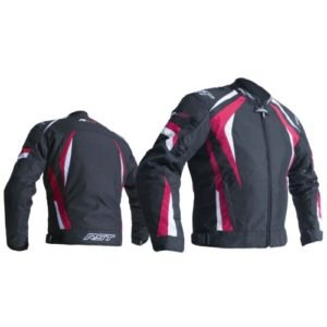 RST R-18 2071 CE Black and Red Jacket