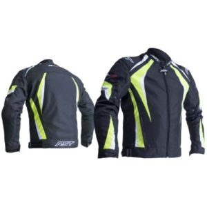 RST R-18 2071 CE Black and Yellow Jacket