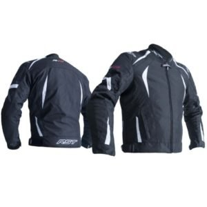 RST R-18 2071 CE Black and White Jacket