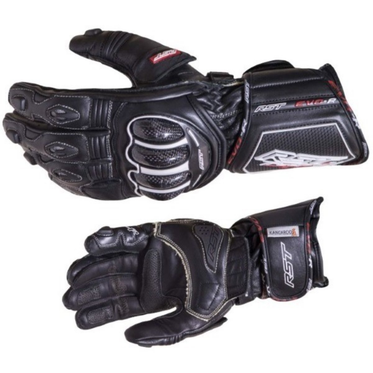 RST Tractech Evo R CE Black Motorcycle Gloves