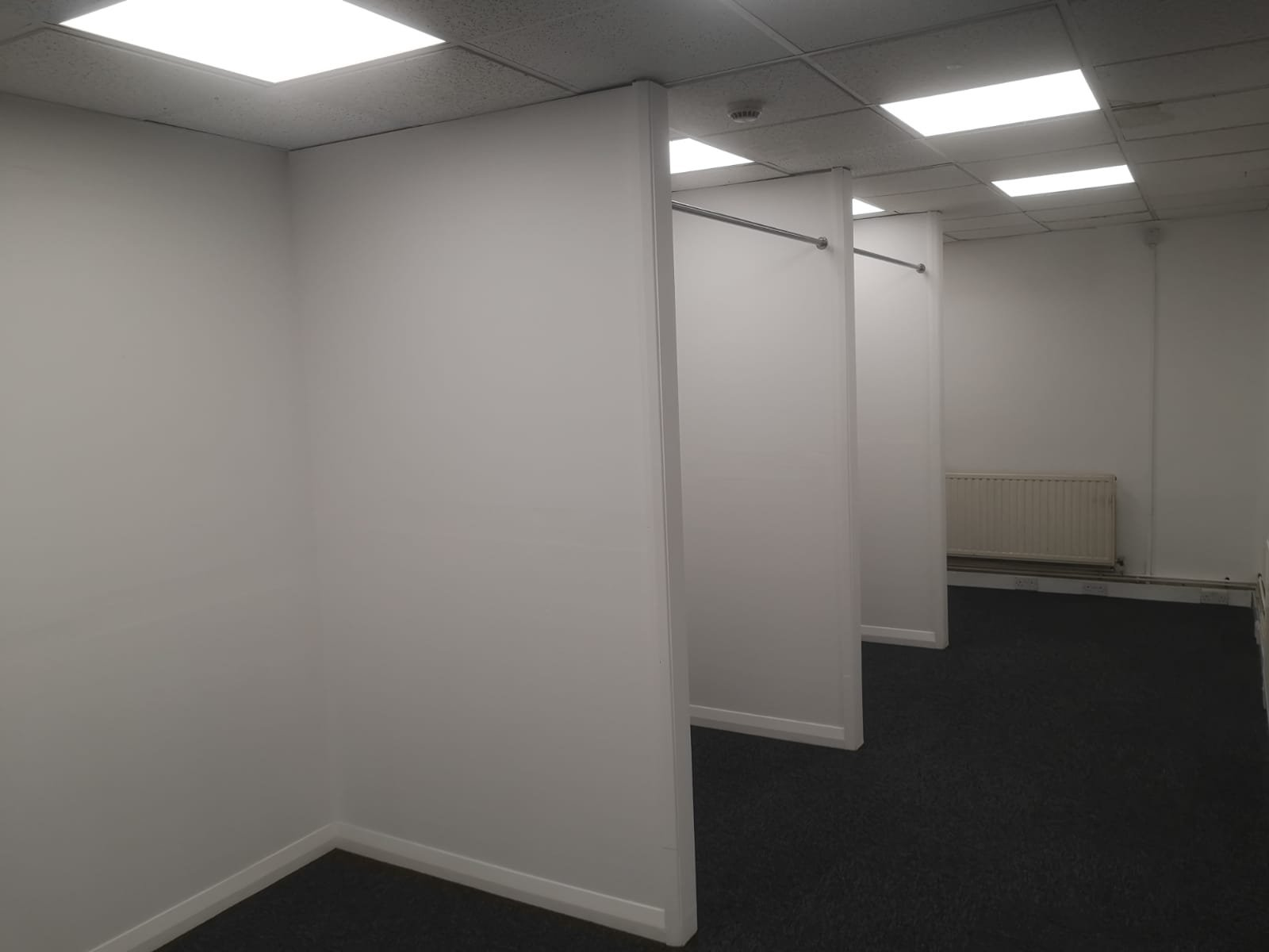 Changing rooms nearly ready