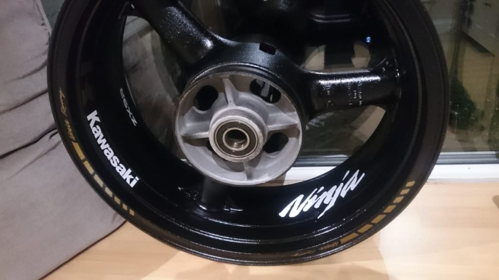 Wheels with graphics on