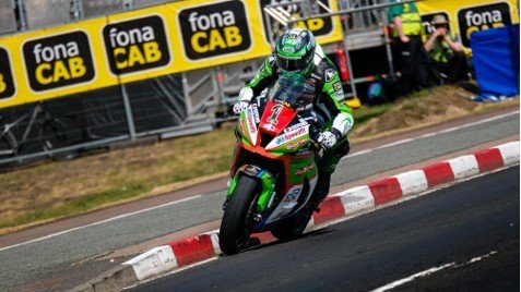 Pushing hard in the Superstock class