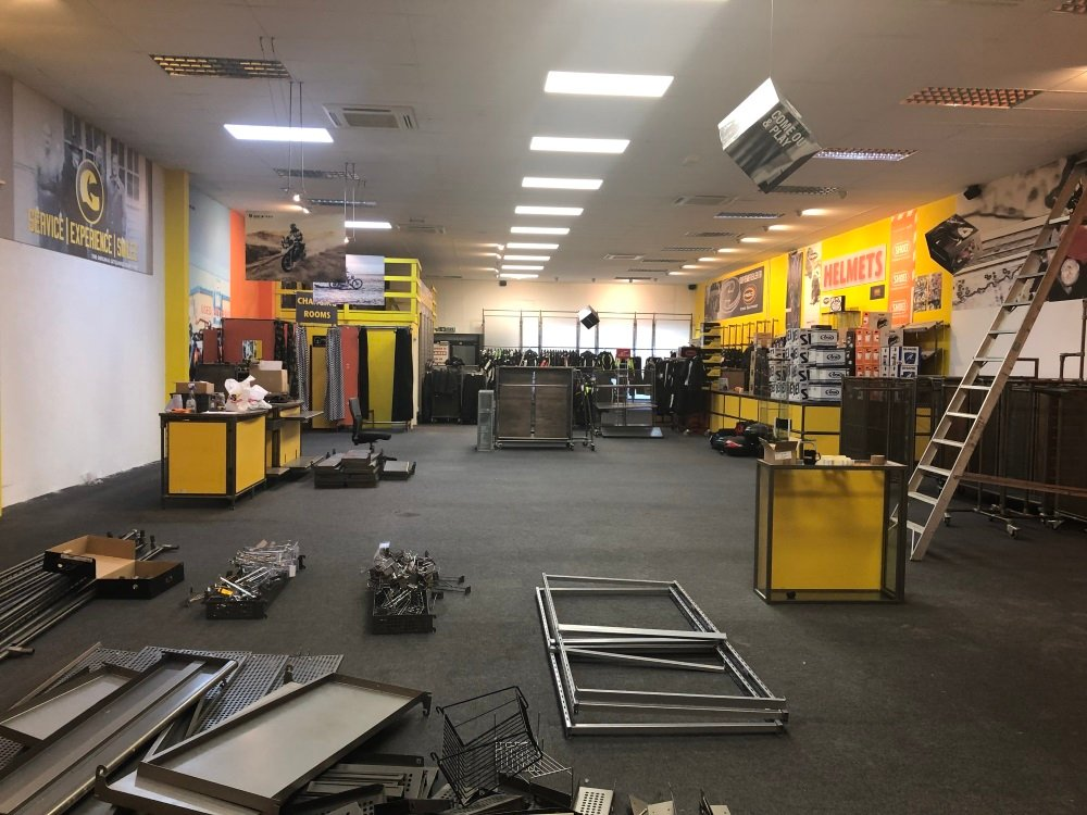 The old Get Geared store