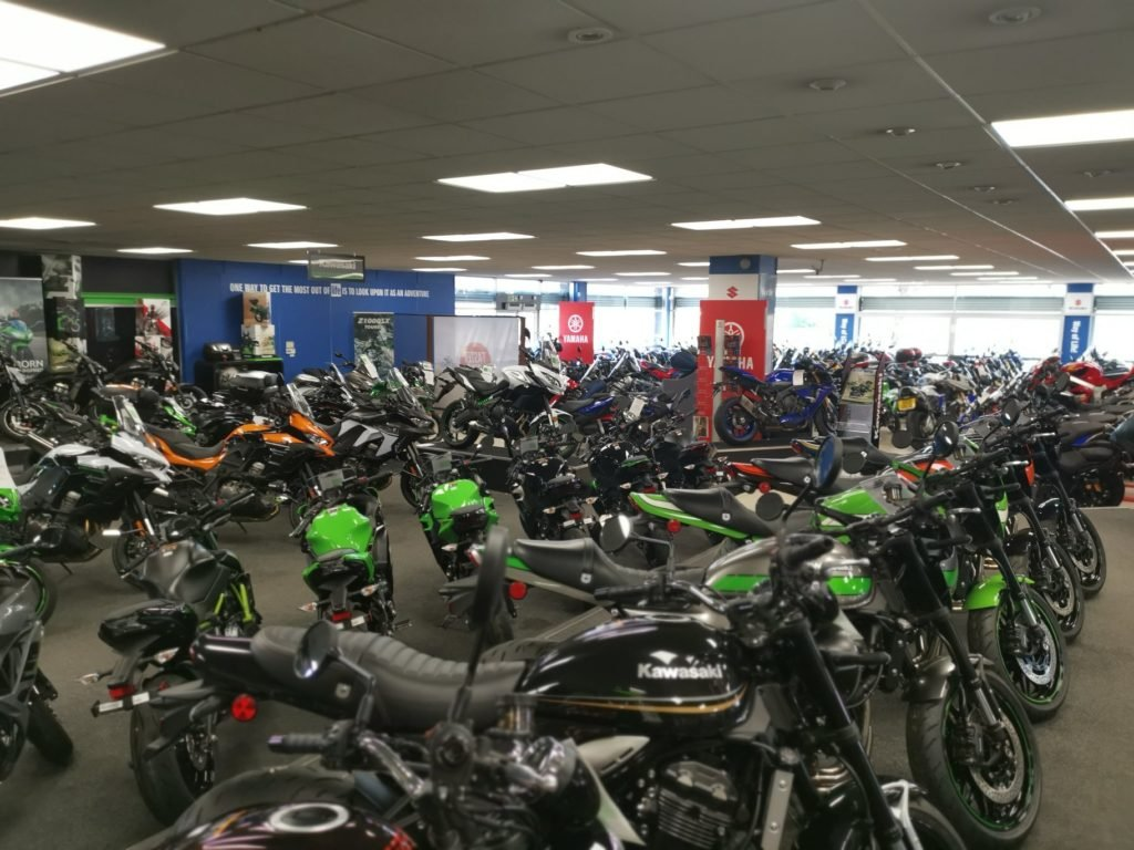Doncaster motorcycle show room