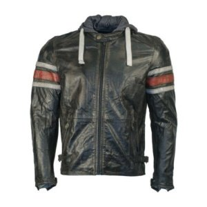 Richa Toulon Leather Motorcycle Jacket Red