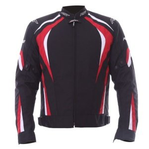 RST R-18 CE Textile Motorcycle Jacket Red Black