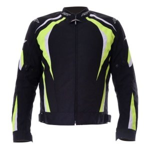 RST R-18 CE Textile Motorcycle JAcket Fluorescent Yellow