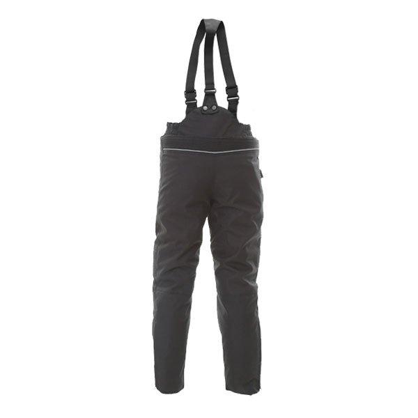Frank Thomas Krag Kids Black Textile Motorcycle Pants Rear