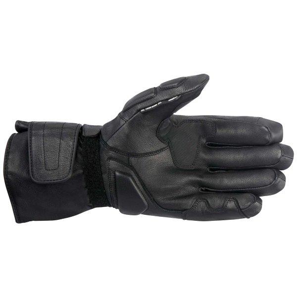 Alpinestars WR-1 Black Motorcycle Gloves Palm
