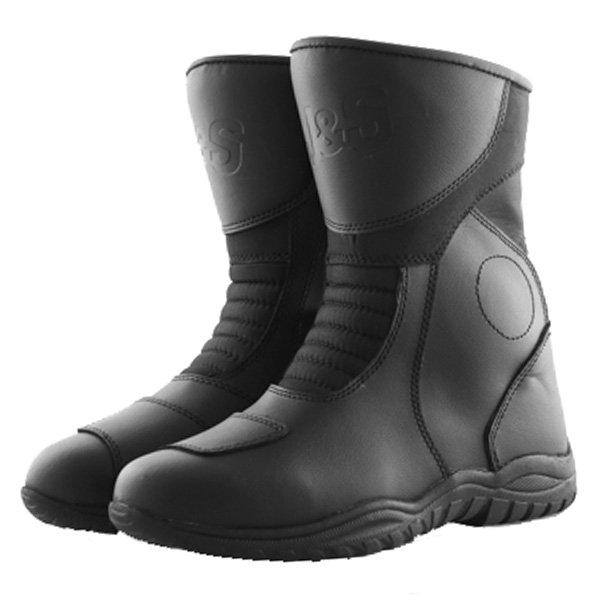 Super Tour Boots FW-132 Black J&S Boots